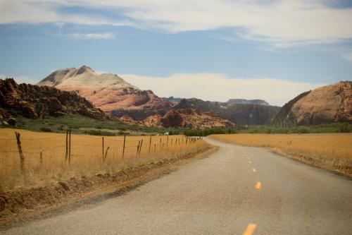 Дорога в Зион, США