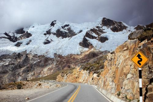 К перевалу через Кордильеру Бланку, Перу