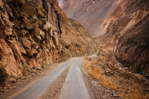 По каньону реки Таблачака